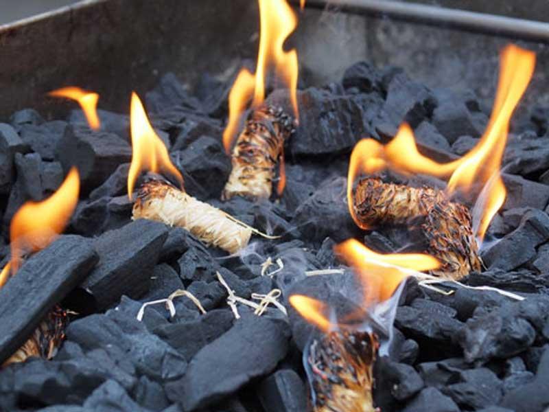 ψησταρια καρβουνου