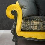 Konstantaras.net - Σαλόνια - Καναπές Κίτρινος