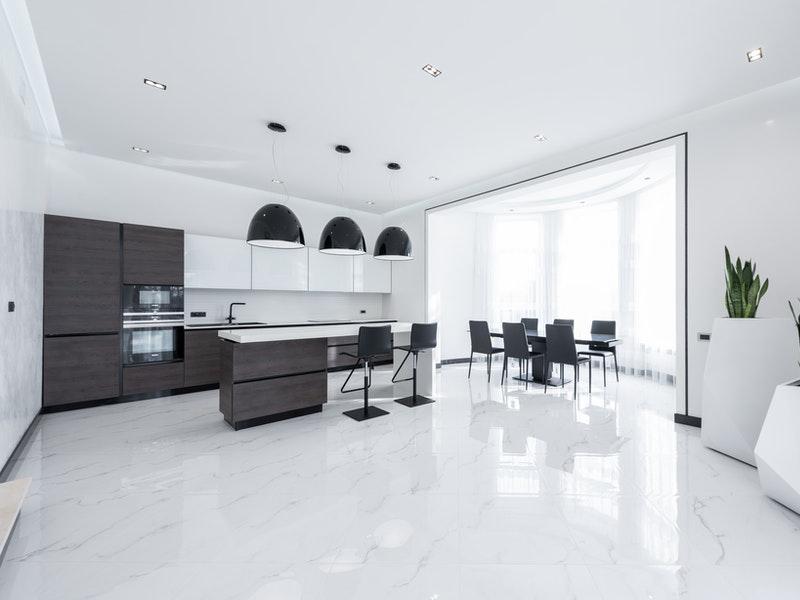 ανακαίνιση κουζίνας και δαπέδου