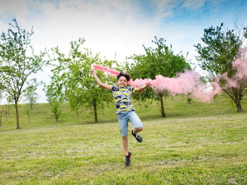 Ροζ καπνογόνο